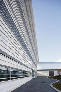 Sweden, Skane, Lund, Modern building of Max IV laboratoryの写真素材 [FYI02704165]