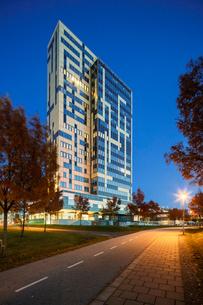 Sweden, Skane, Lund, Exterior of building in Ideon Science Parkの写真素材 [FYI02704302]