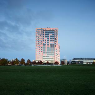 Sweden, Skane, Lund, Exterior of building in Ideon Science Parkの写真素材 [FYI02704380]