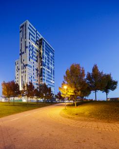 Sweden, Skane, Lund, Exterior of building in Ideon Science Parkの写真素材 [FYI02704387]