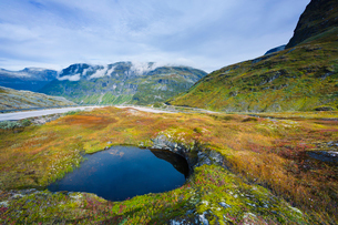 Norway, More og Romsdal, Sunnmore, Scenic view of landscapeの写真素材 [FYI02704399]