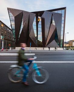 Sweden, Skane, Malmo, World Maritime Universityの写真素材 [FYI02704429]