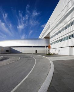 Sweden, Skane, Lund, Modern building of Max IV laboratoryの写真素材 [FYI02704501]