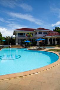 Hotel in long beach islandの写真素材 [FYI02704874]