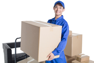 House-moving serviceの写真素材 [FYI02704906]