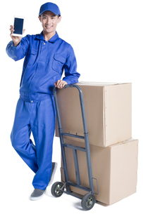 House-moving serviceの写真素材 [FYI02704916]