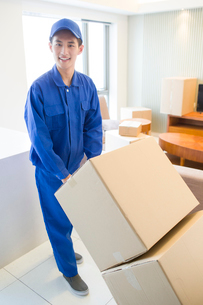 House-moving serviceの写真素材 [FYI02704919]
