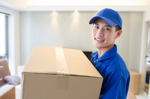 House-moving serviceの写真素材 [FYI02704921]