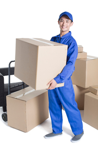 House-moving serviceの写真素材 [FYI02704923]