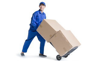 House-moving serviceの写真素材 [FYI02704927]