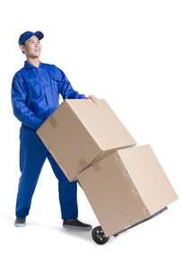 House-moving serviceの写真素材 [FYI02704935]