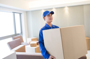 House-moving serviceの写真素材 [FYI02704948]