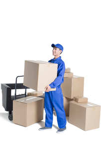 House-moving serviceの写真素材 [FYI02704949]