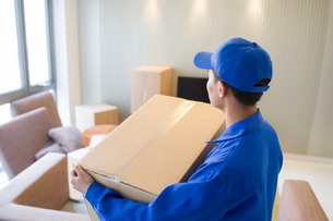 House-moving serviceの写真素材 [FYI02704950]