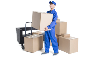 House-moving serviceの写真素材 [FYI02704960]