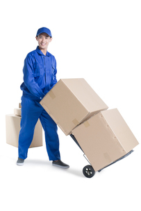 House-moving serviceの写真素材 [FYI02704968]
