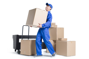 House-moving serviceの写真素材 [FYI02704982]