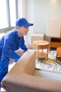 House-moving serviceの写真素材 [FYI02704990]