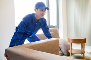 House-moving serviceの写真素材 [FYI02705000]