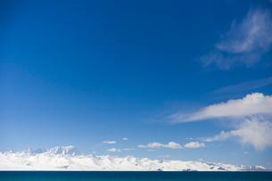 Namu lake in Tibet, Chinaの写真素材 [FYI02705025]