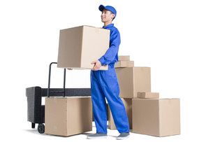 House-moving serviceの写真素材 [FYI02705042]