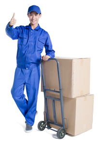 House-moving serviceの写真素材 [FYI02705131]