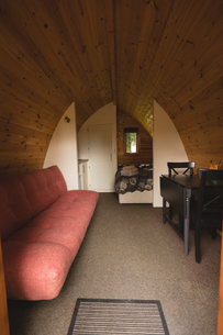 Interior of glampingの写真素材 [FYI02705160]