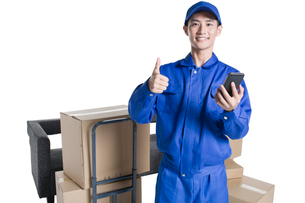 House-moving serviceの写真素材 [FYI02705266]
