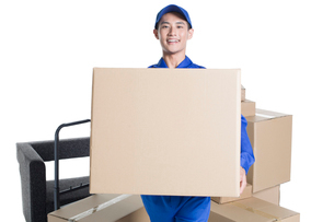 House-moving serviceの写真素材 [FYI02705316]