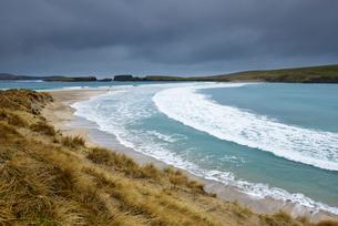 St Ninians Isle in Shetland, Scotlandの写真素材 [FYI02705403]