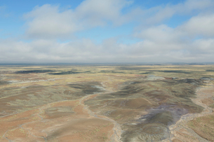 Expansive view of the Painted Desertの写真素材 [FYI02705406]