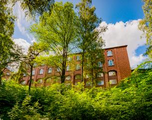 Sweden, Stockholm, Ostermalm, Kungliga Tekniska hogskolan (Royal Institute of Technology)の写真素材 [FYI02705572]