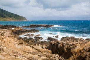 Kenting coast in Taiwan, Chinaの写真素材 [FYI02705729]
