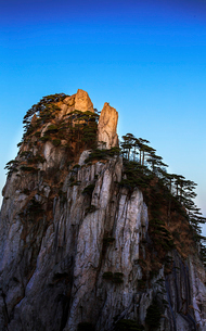 Mt Huangshan in Anhui province,Chinaの写真素材 [FYI02706001]