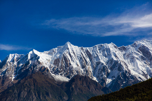 Nanjiabawa mountain in Tibet, Chinaの写真素材 [FYI02706280]