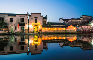 Hong village in Anhui province,Chinaの写真素材 [FYI02706322]