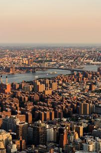 Cityscape of New York Cityの写真素材 [FYI02706461]