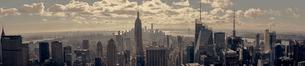 Cityscape of New York Cityの写真素材 [FYI02706478]