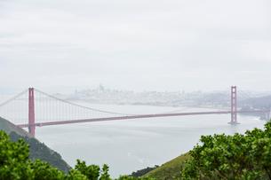 Golden Gate Bridge in San Francisco, Californiaの写真素材 [FYI02706572]