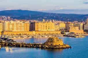 Port Civitavecchia, Metropolitan City of Rome Capitalの写真素材 [FYI02707076]