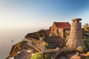 Mirador de la Pena with view restaurant designed byの写真素材 [FYI02707119]