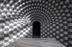 Church of San Giovanni Battista, interior view, architectの写真素材 [FYI02707131]