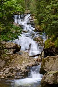 Rissloch Waterfalls, Riesloch Falls, Rissloch Gorgeの写真素材 [FYI02707144]