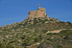 Cabrera Castle, Parque Nacional de Cabrera, Cabreraの写真素材 [FYI02707163]