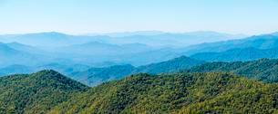 Blue Ridge Mountains from the Blue Ridge Parkway, Jacksonの写真素材 [FYI02707187]