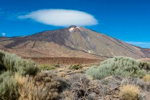 Teide volcano, Teide National Park, Canary Islandsの写真素材 [FYI02707194]