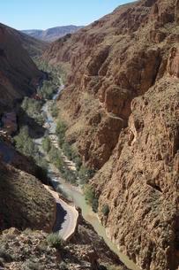 Dades Gorges, High Atlas, Souss-Massa-Draa, Moroccoの写真素材 [FYI02707210]