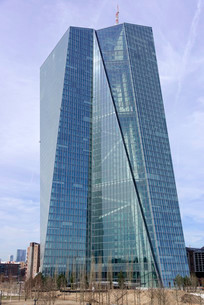 The new building of the European Central Bank, ECBの写真素材 [FYI02707222]