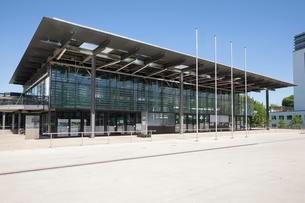 World Conference Center, former plenary hall, Bonnの写真素材 [FYI02707294]