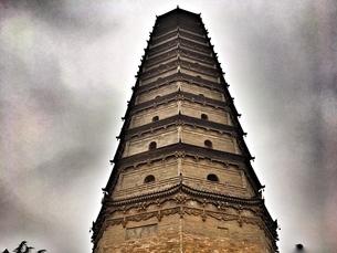 Famen Temple,Baoji,Xiの写真素材 [FYI02707328]
